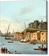 Castle In The Island Of Torosa Canvas Print