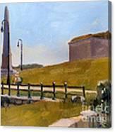 Castle Island Day Canvas Print