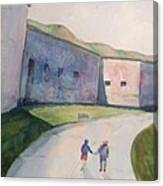 Castle Island Canvas Print