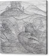 Castle Of Heaven Canvas Print
