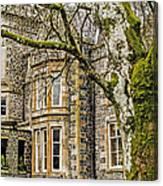 Castle Of Scottish Highlands Canvas Print