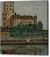 Castle Of Vyborg Canvas Print