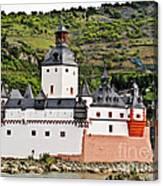Castle Pfalzgrafenstein Canvas Print