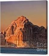 Castle Rock Canvas Print