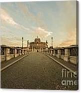 Castle Sant'angelo Canvas Print