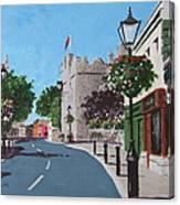 Castle Street Dalkey Canvas Print