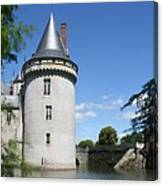 Castle Sully Sur Loire - France Canvas Print