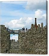 Castle Wall Walk Canvas Print