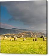 Castlerigg Stone Circle Canvas Print
