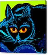 Cat-3 Canvas Print