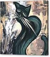 Cat 527-11-13 Marucii Canvas Print