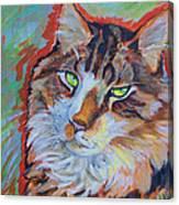 Cat Commission Canvas Print