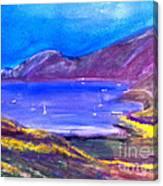 Cat Harbor Canvas Print