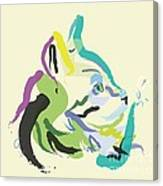 Cat Lisa Canvas Print