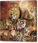 Cat Power Canvas Print