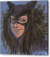 Cat Woman01 Canvas Print