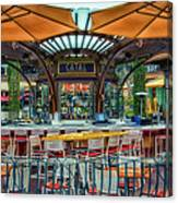 Catal Outdoor Cafe Downtown Disneyland 01 Canvas Print