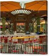 Catal Outdoor Cafe Downtown Disneyland 02 Canvas Print