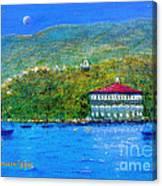 Catalina Island Night Canvas Print