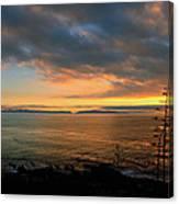 Catalina Island Sunset Canvas Print