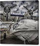 Catalina Pby-5a Miss Pick Up Hdr Canvas Print