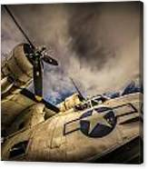 Catalina Pby-5a Miss Pick Up Low Angle Canvas Print
