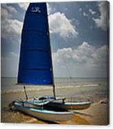 Catamaran Canvas Print