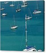 Catamaran  St Thomas Usvi Canvas Print