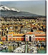 Catania Sicily Canvas Print