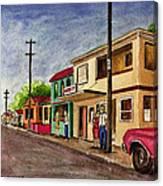 Catano Puerto Rico Street Canvas Print