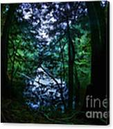 Cataracts Canyon Calm Water Canvas Print