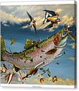 Catch And Release Canvas Print