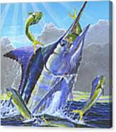 Catch Em Up Off0029 Canvas Print