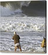 Catchin' A Wave Canvas Print