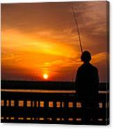 Catching The Sunset Canvas Print