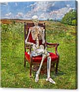 Catching Up On Human Anatomy And Physiology Canvas Print