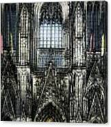 Cathederal In Koln Canvas Print