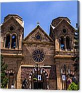 Cathedral Basilica Canvas Print