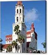 Cathedral Basilica Of St. Augustine Canvas Print