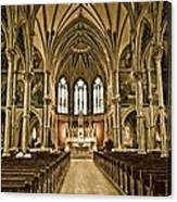 Cathedral Canvas Print