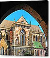 Cathedral Colmar France Canvas Print