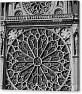 Cathedral De Notre Dame Canvas Print
