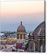 Cathedral Dome And City Canvas Print