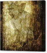 Cathedral Gargoyle Canvas Print