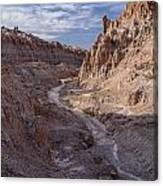 Cathedral Gorge Wash Canvas Print