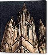 Cathedral In The Sky Canvas Print