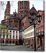 Cathedral - Mainz Canvas Print