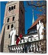 Cathedral Of Augsburg Canvas Print