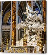 Cathedral Of Chartres Altar Canvas Print