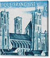 Cathedral Of Laon Canvas Print